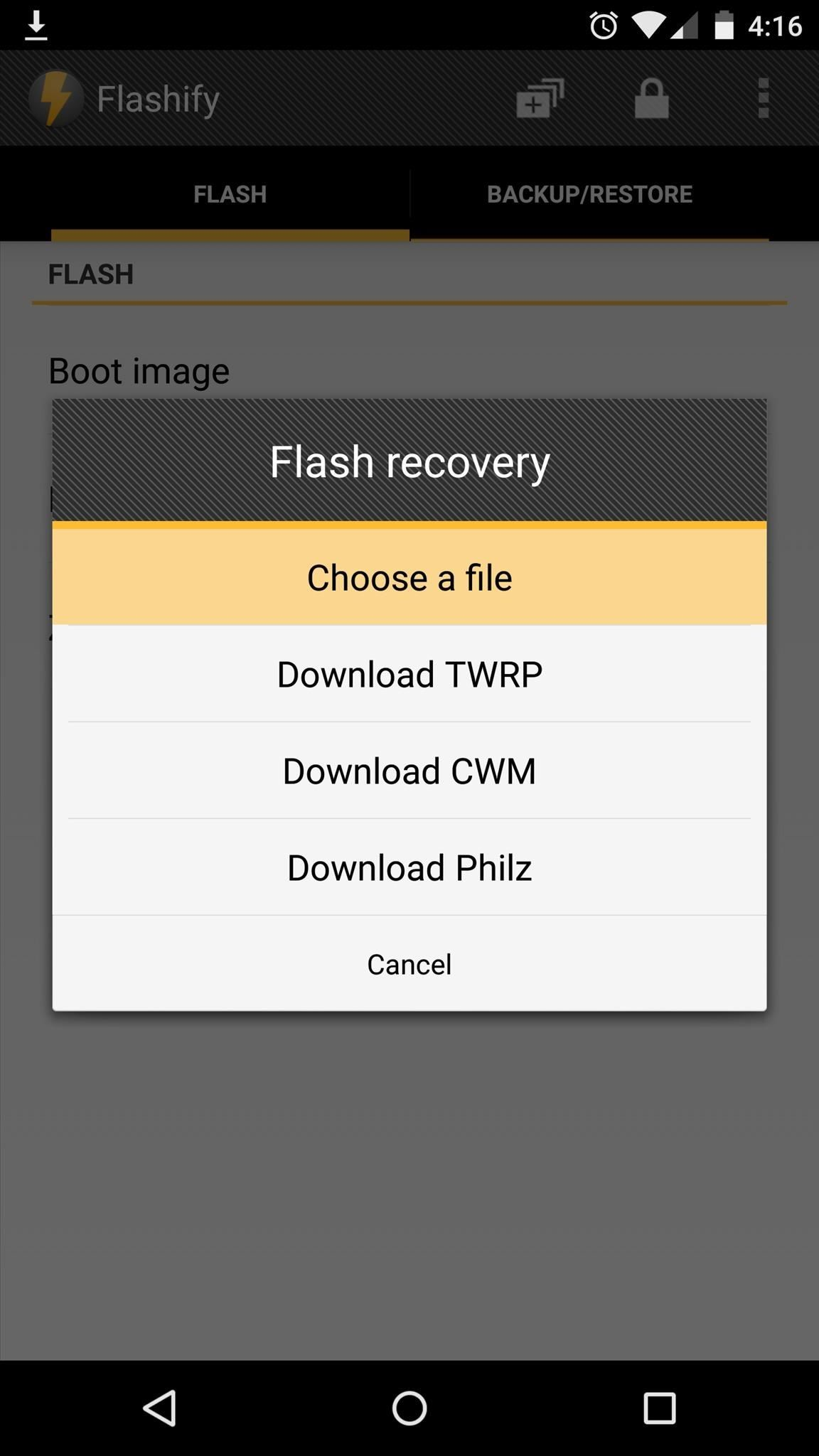 How to Install a Custom Recovery on the Nexus 6