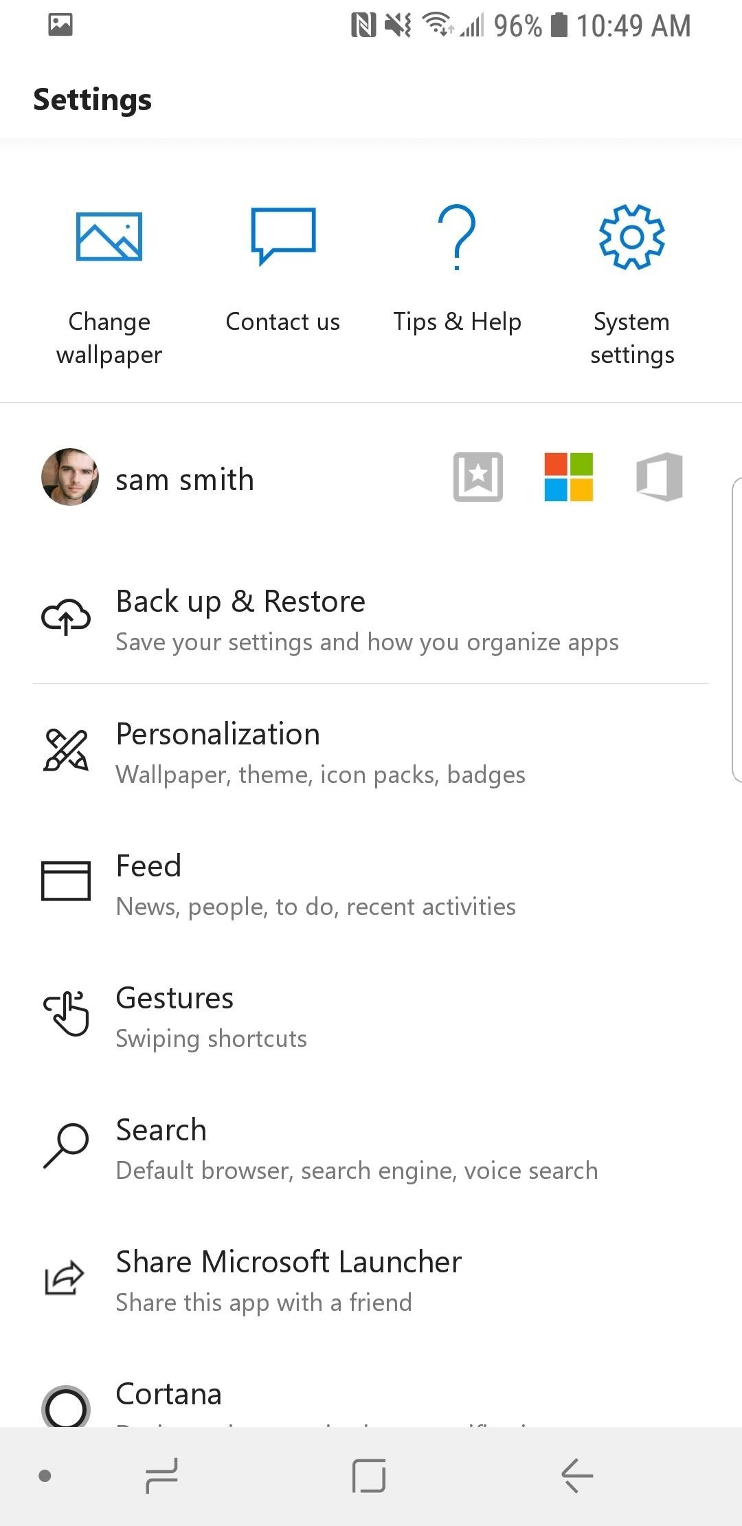 How to Create Your Own Gesture Control with the Microsoft Launcher