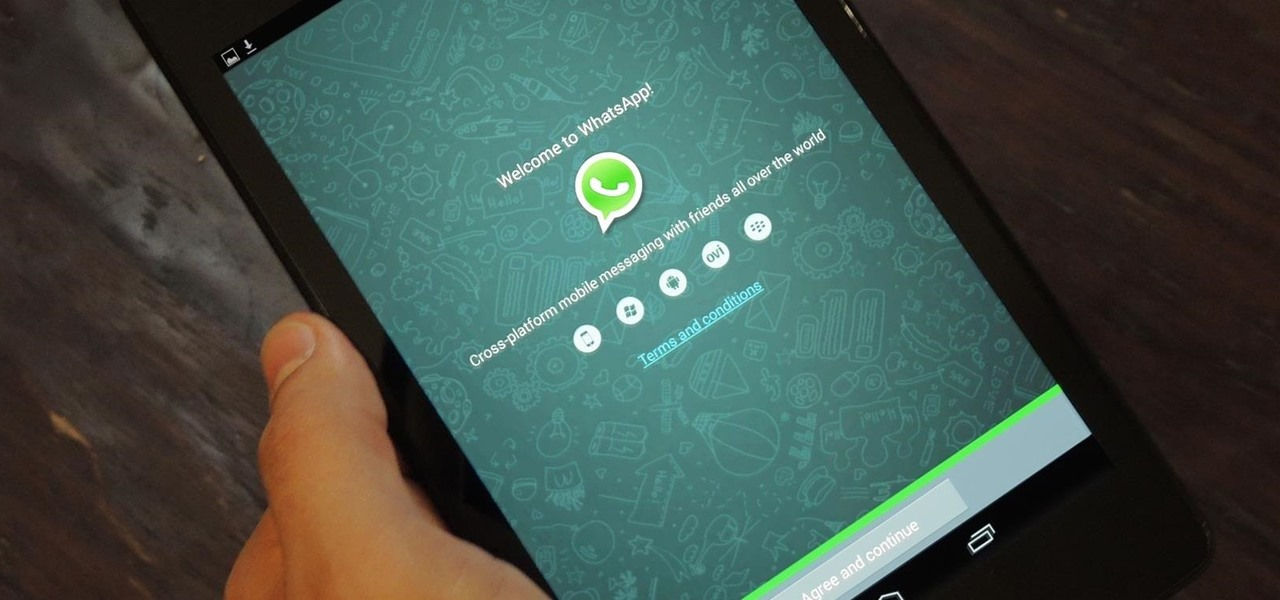 How to Set Up WhatsApp on Your Nexus 7 Tablet—Without