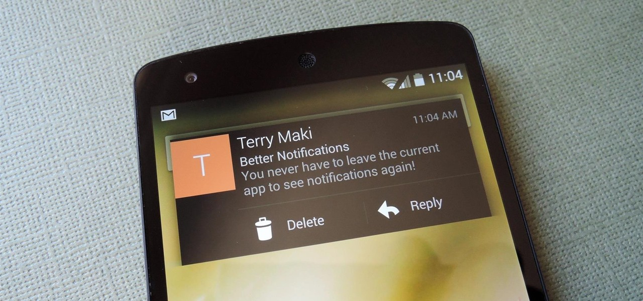 "Get the New Android L ""Heads Up"" Notifications on Your Nexus 5 or Other Android Device"