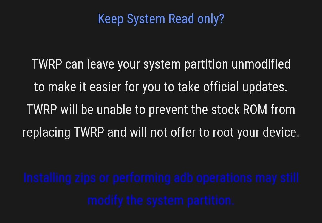 How to install TWRP Custom Recovery on your OnePlus 6