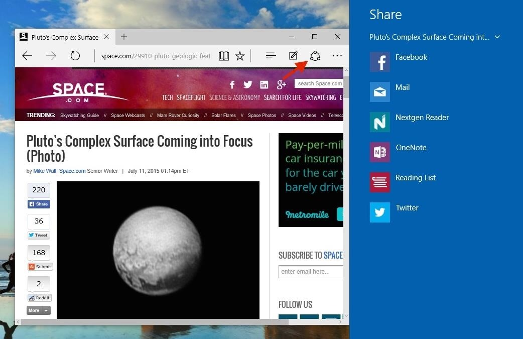 10 Things You Need to Know About Microsoft's Edge Browser in Windows 10