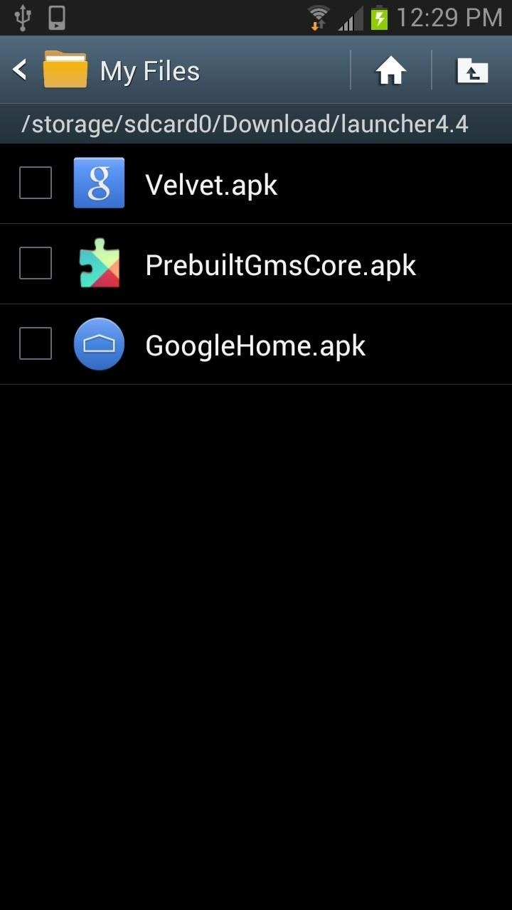 How to Install the Android 4 4 KitKat Home Launcher on Your Samsung