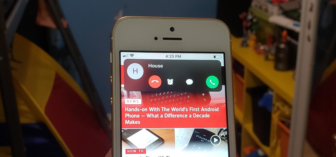 How to Stop Incoming Calls from Taking Over Your iPhone's