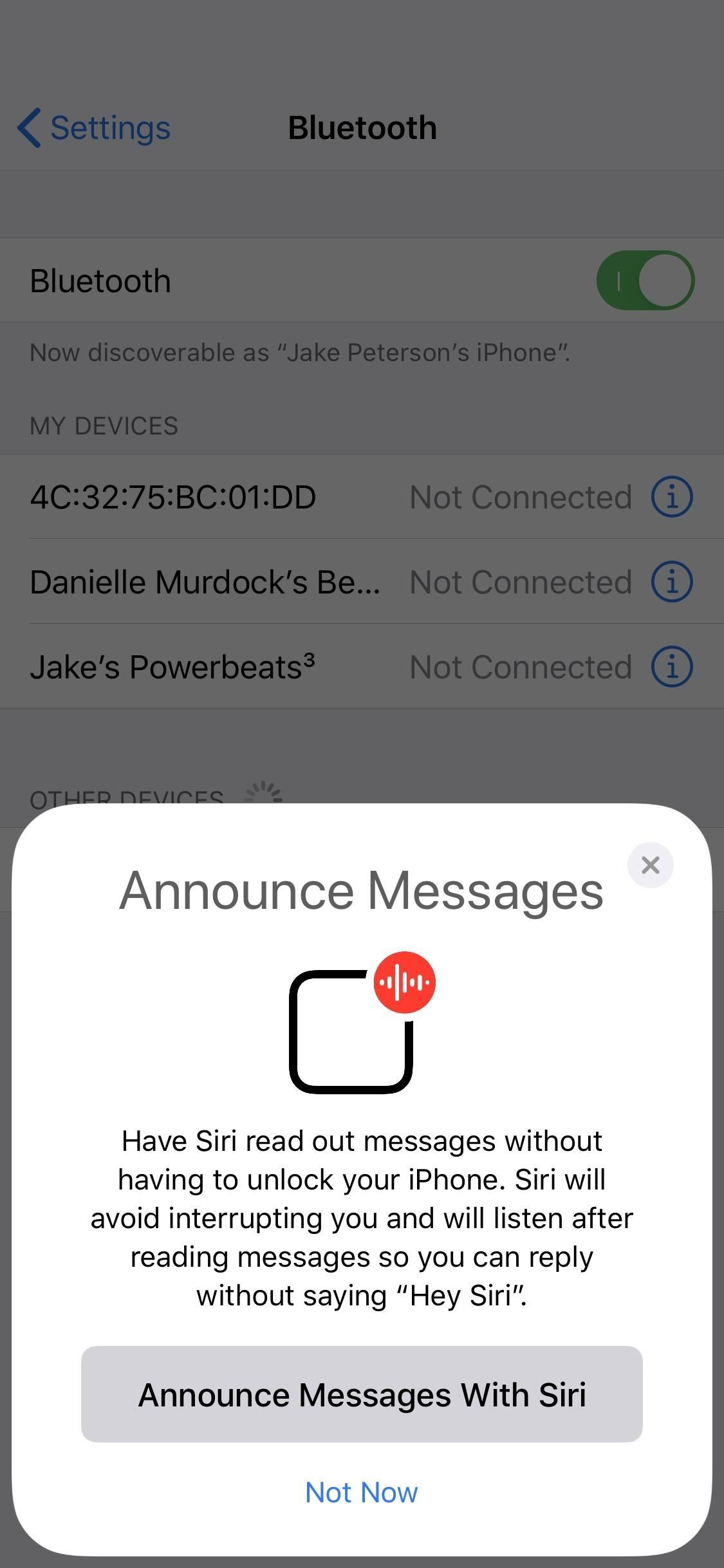 Announce Messages with Siri Not Working on iOS 13.2? Here's the Fix