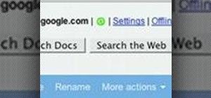 Work offline with Google documents