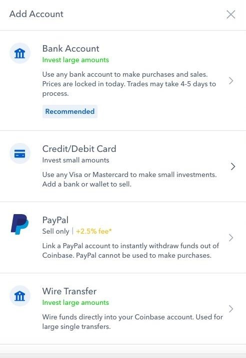 Coinbase 101: How to Add a PayPal Account to Get Your Cash