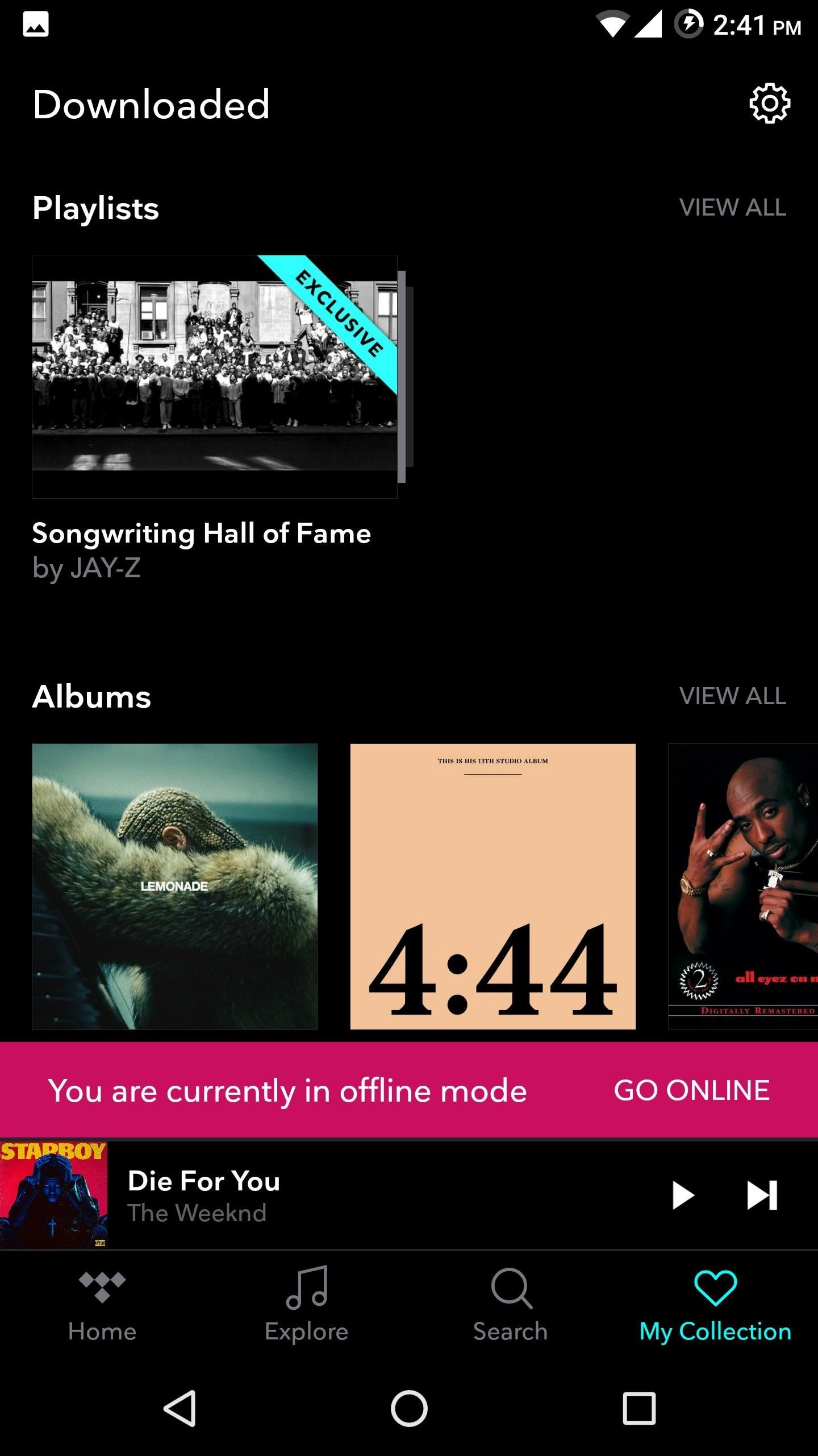 TIDAL 101: How to Download Albums & Playlists for Offline Playback