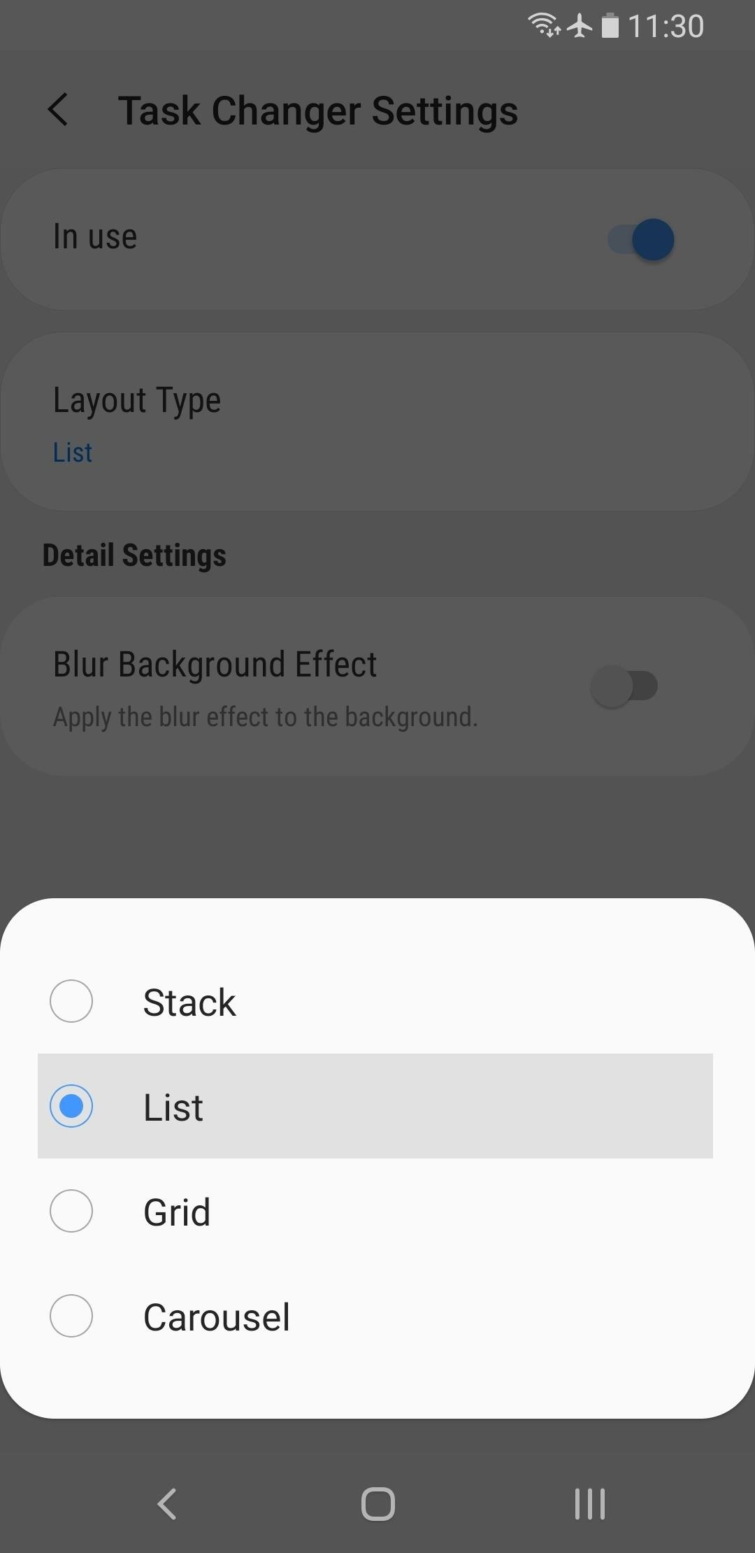 How to Bring Back the Vertical Recent Apps Menu on Your Galaxy in