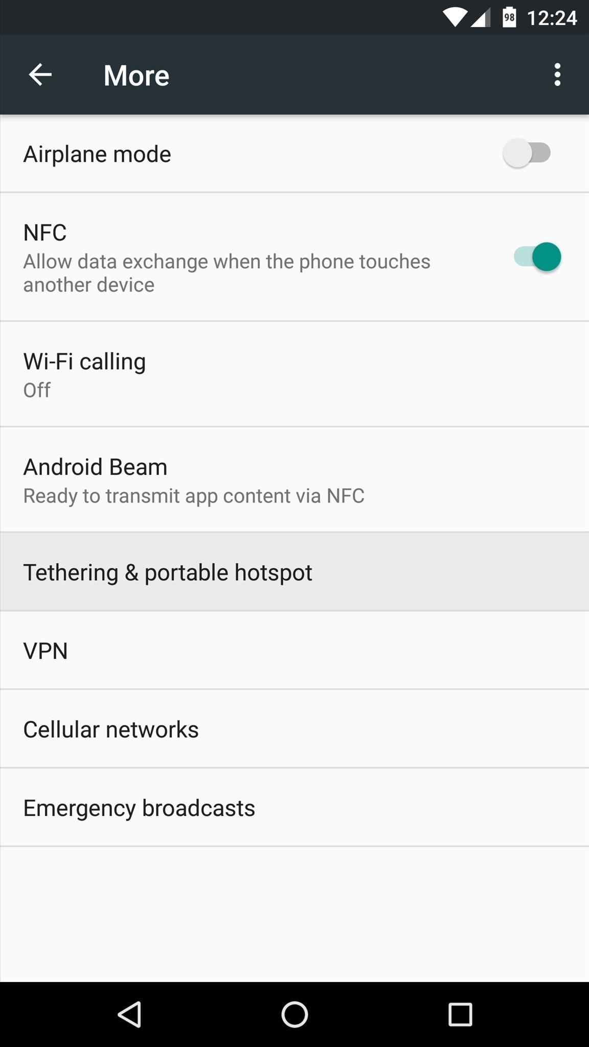 How to Enable Free WiFi Tethering on Android Marshmallow