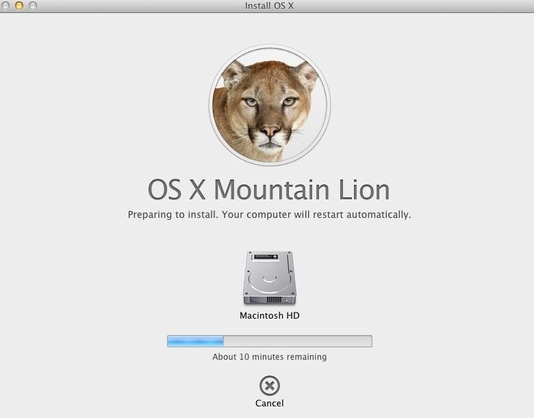 How to Upgrade to Mountain Lion from Leopard (OS X 10.5 to 10.8)