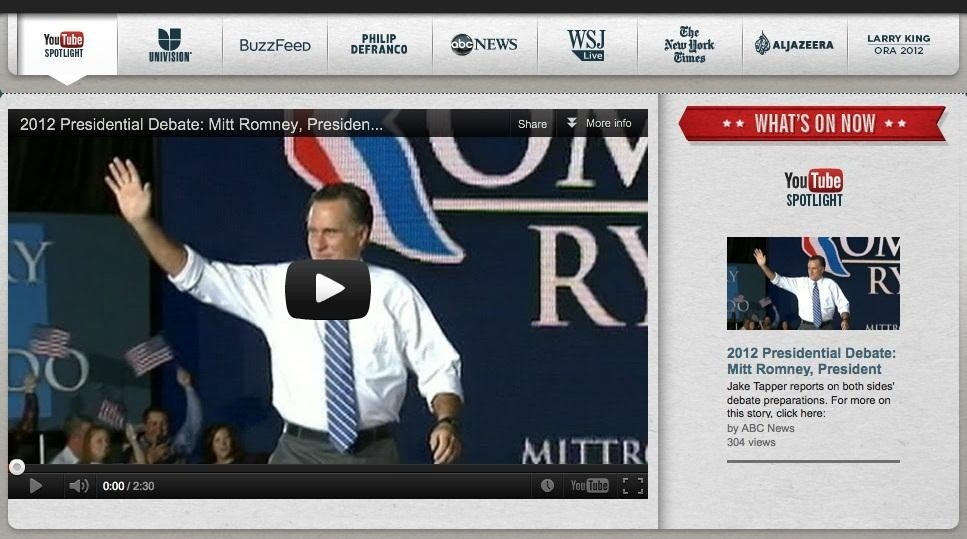 How to Watch Replays of the 2012 Presidential Debates Online