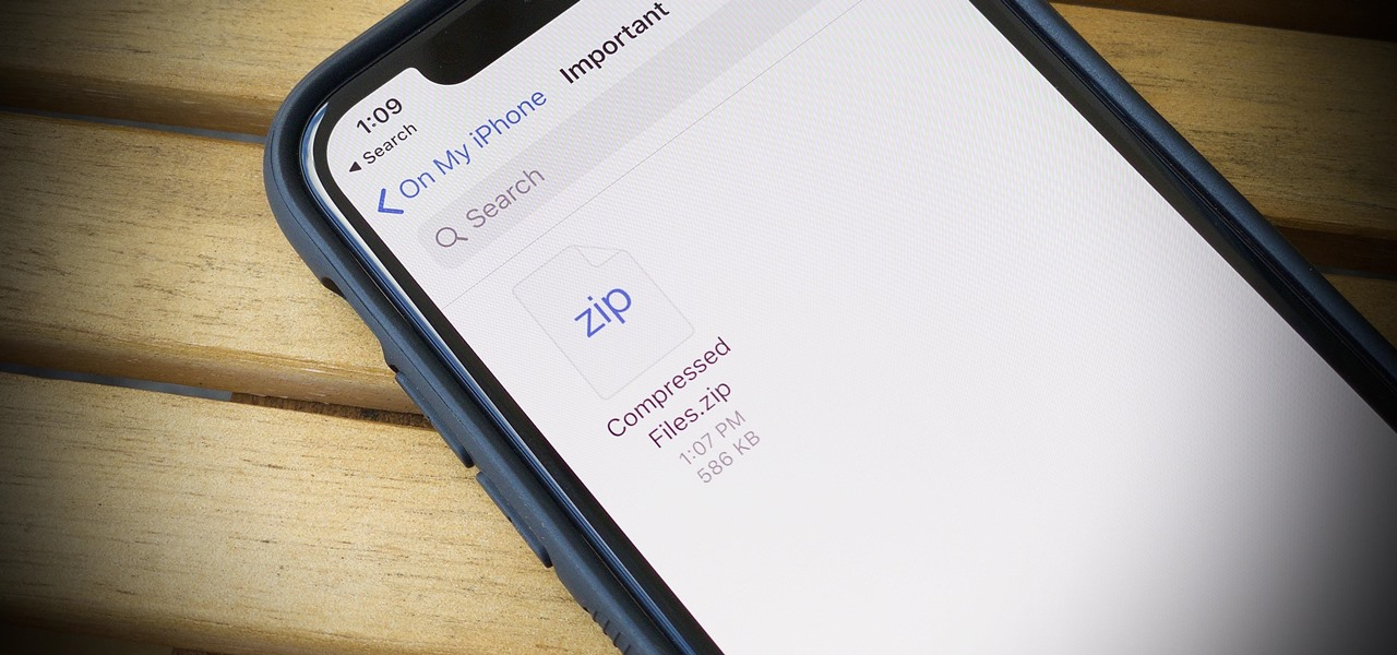 You Can Finally Unzip Files on Your iPhone