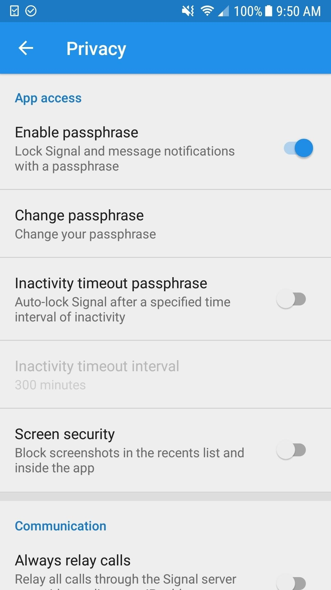 Signal 101: How to Password-Protect Your Calls, Texts & Notification Previews