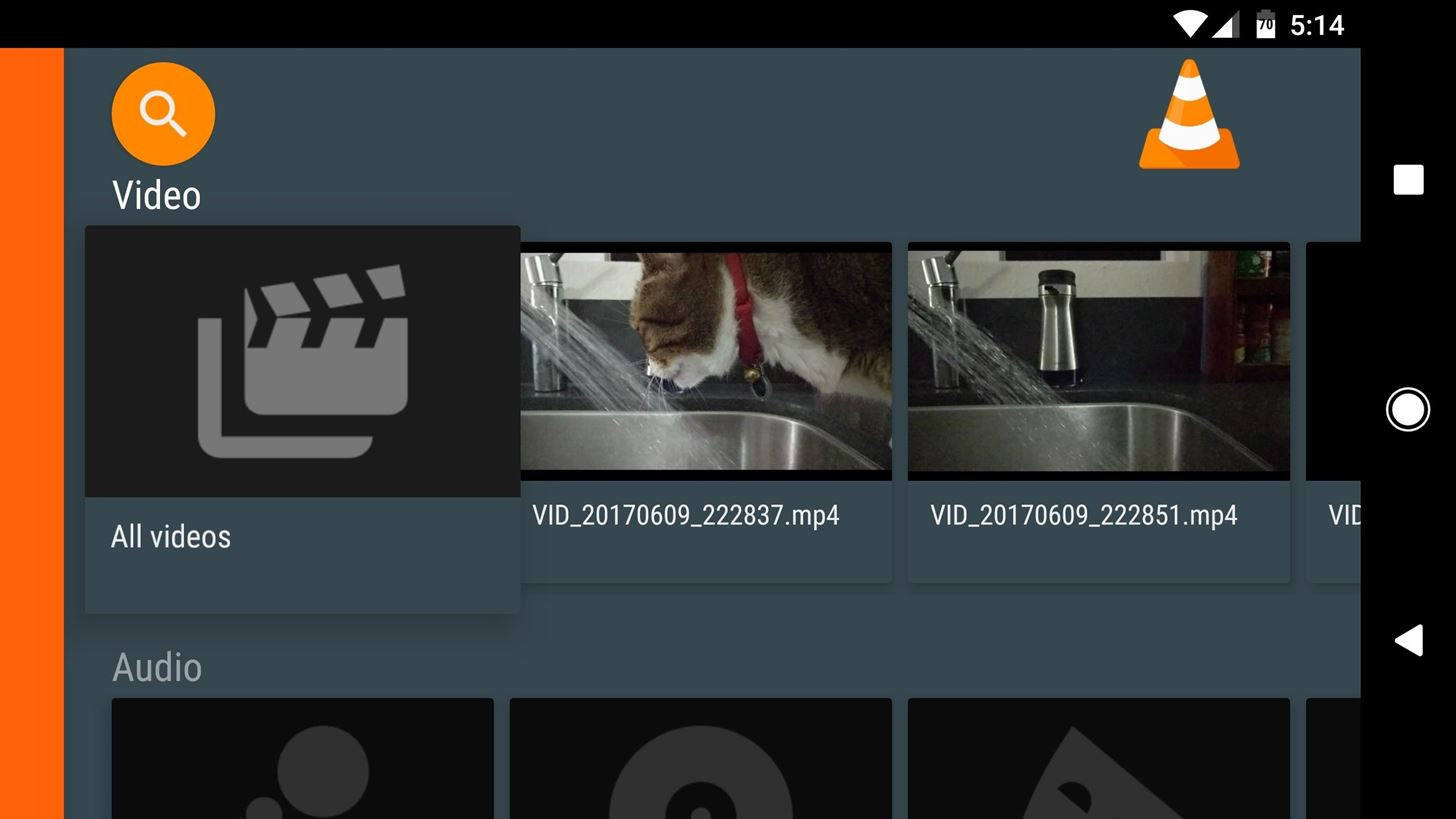 VLC 101: How to Enable Android TV's Interface on the Phone Version