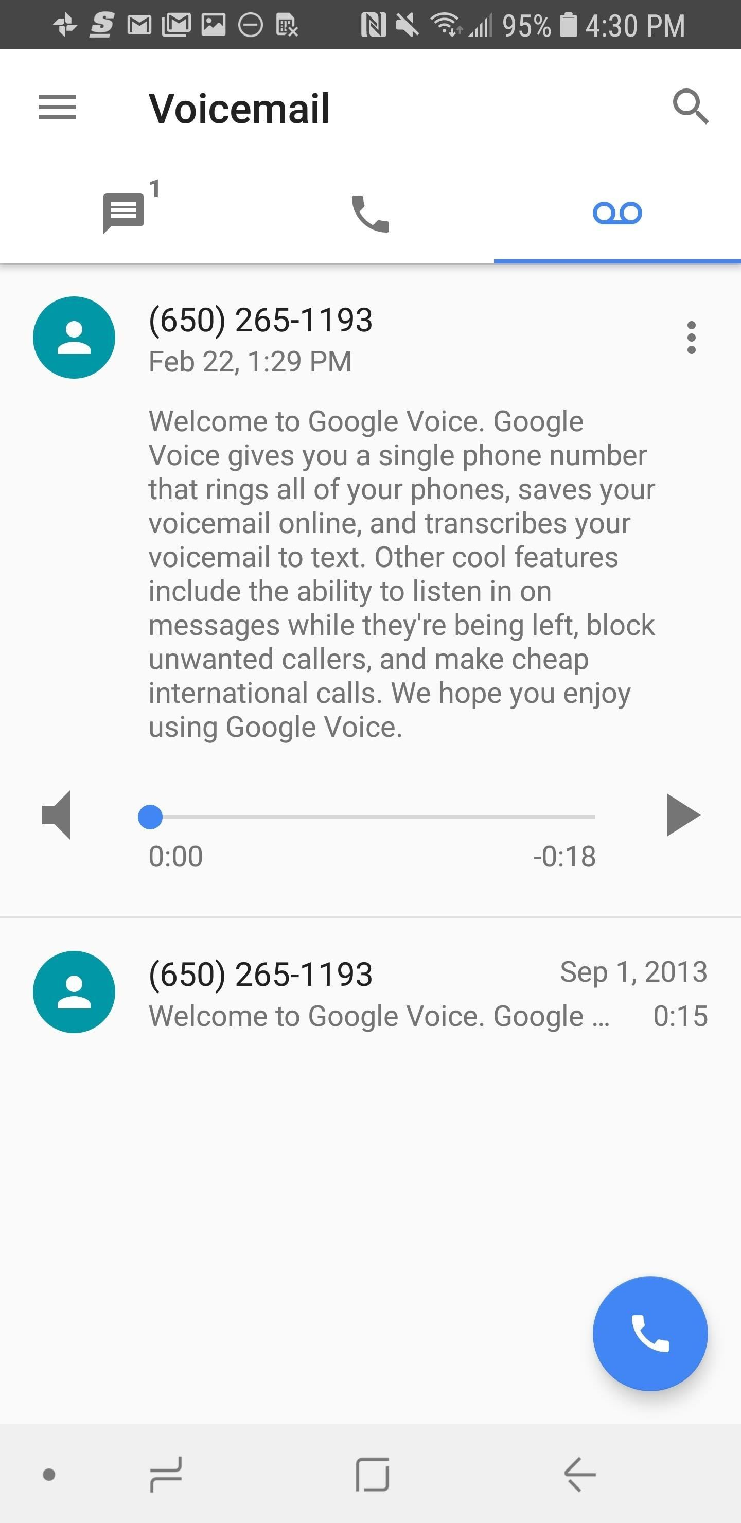How to set up google voice to get visual voicemail on your unlocked if you want to have your voicemails texted or emailed to you tap the hamburger menu in the top left corner then hit settings kristyandbryce Images
