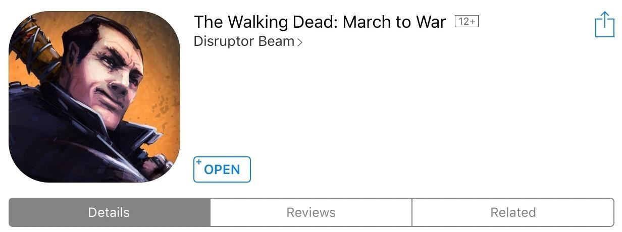 Gaming: Play 'The Walking Dead: March to War' on Your iPhone or Android Now