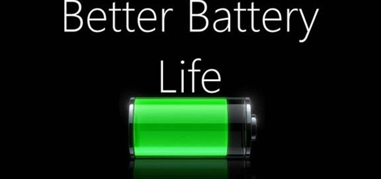 Extend Battery Life Iphone