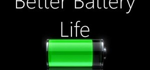 Calibrate your mobile device for better battery life