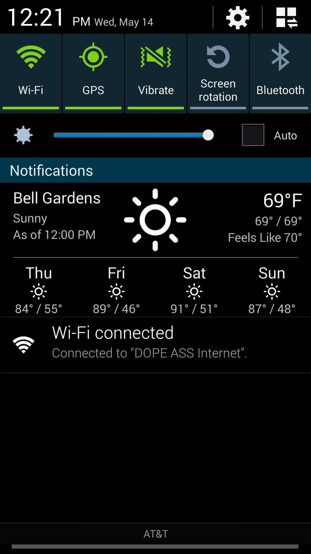 How to Get Weather Forecasts in the Notification Shade on Your Samsung Galaxy S4
