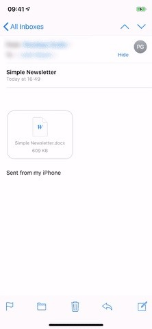 How to Open & Edit Word Docs in Apple Pages on Your iPhone