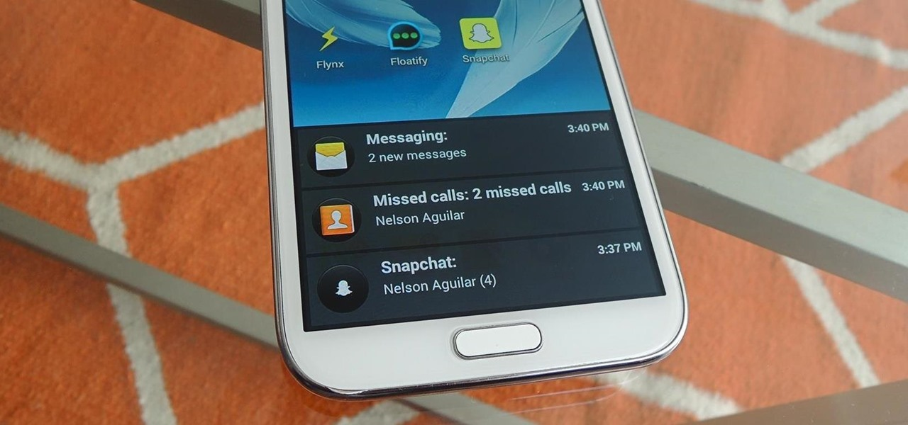 How to Get Floating Banner Alert Notifications on Your Galaxy Note 2