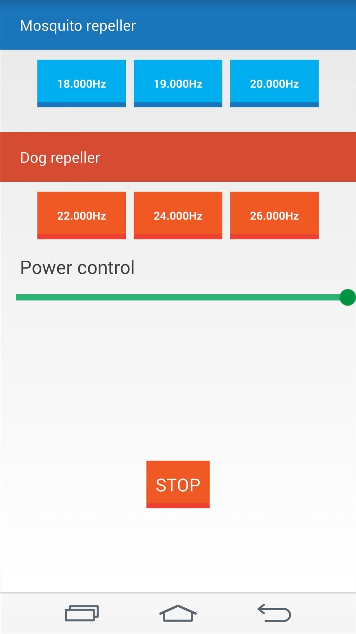 Repel Mosquitos, Dogs, & Annoying Friends with High-Frequency Tones on Android