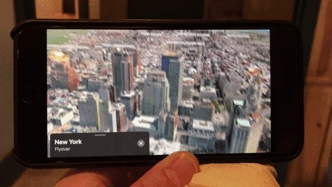 How to Unlock Virtual Reality 'Flyover' Cities in Apple Maps on Your iPhone in iOS 11