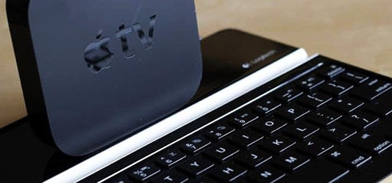 Turn Your Bluetooth Keyboard into an Apple TV Remote