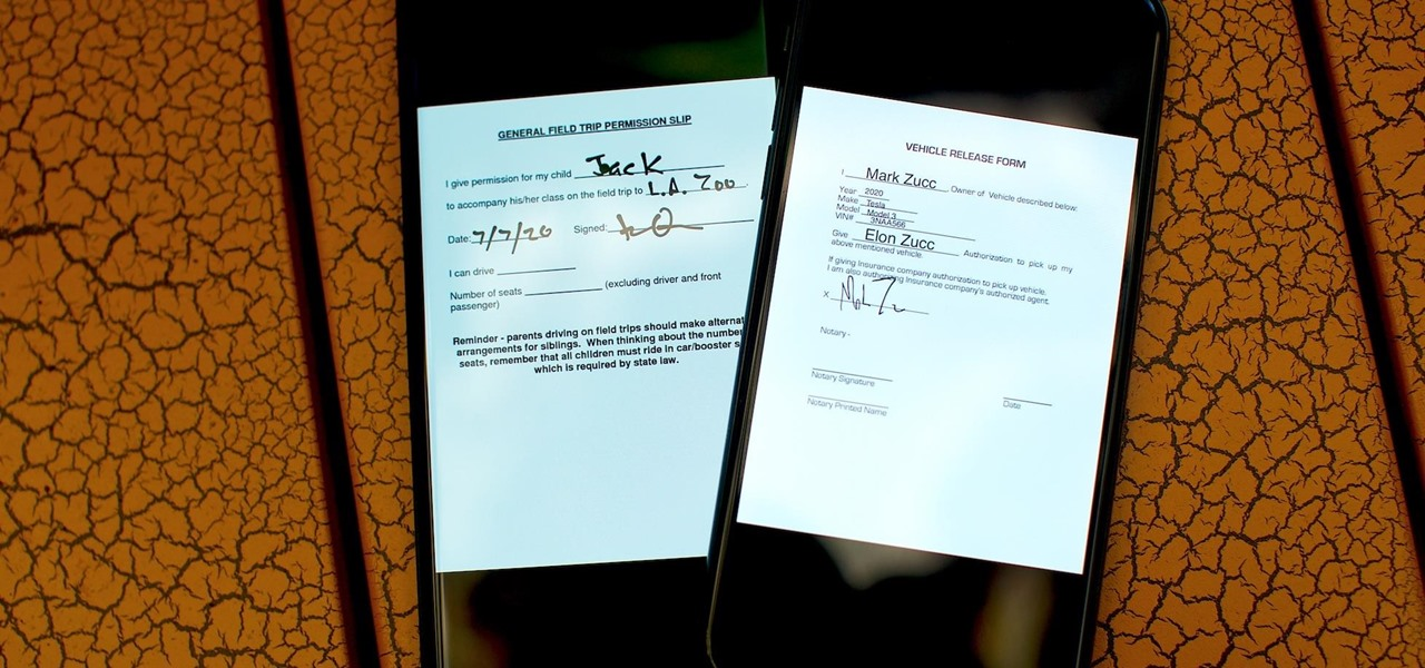 How To: The Best Ways to Electronically Fill & Sign Documents on iPhone or Android