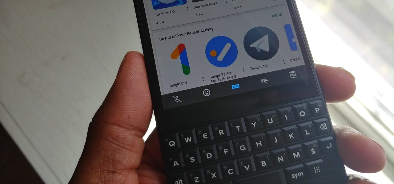 How to Remove the On-Screen Keyboard on Your BlackBerry KEYone or