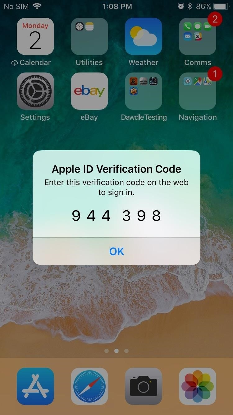How to Enable or Disable Two-Factor Authentication on Your iPhone in iOS 11