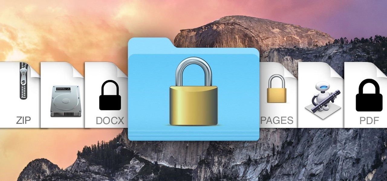 The Ultimate Guide to Password-Protecting Files & Folders in Mac OS X Yosemite