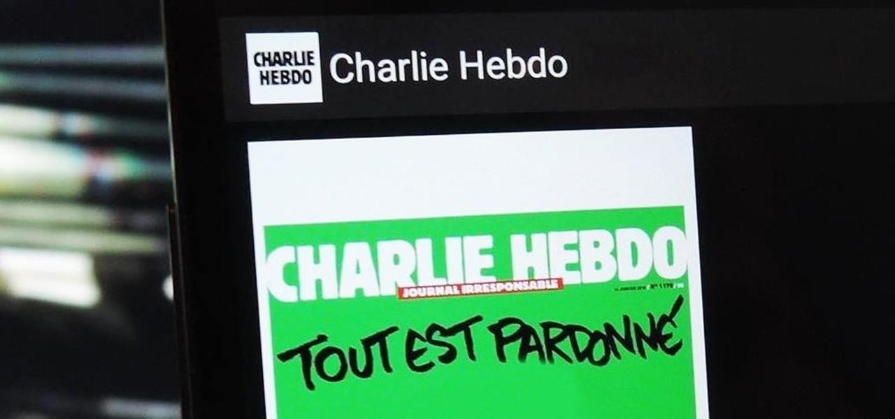 Charlie Hebdo Releases Mobile App for Android, iOS, & Windows