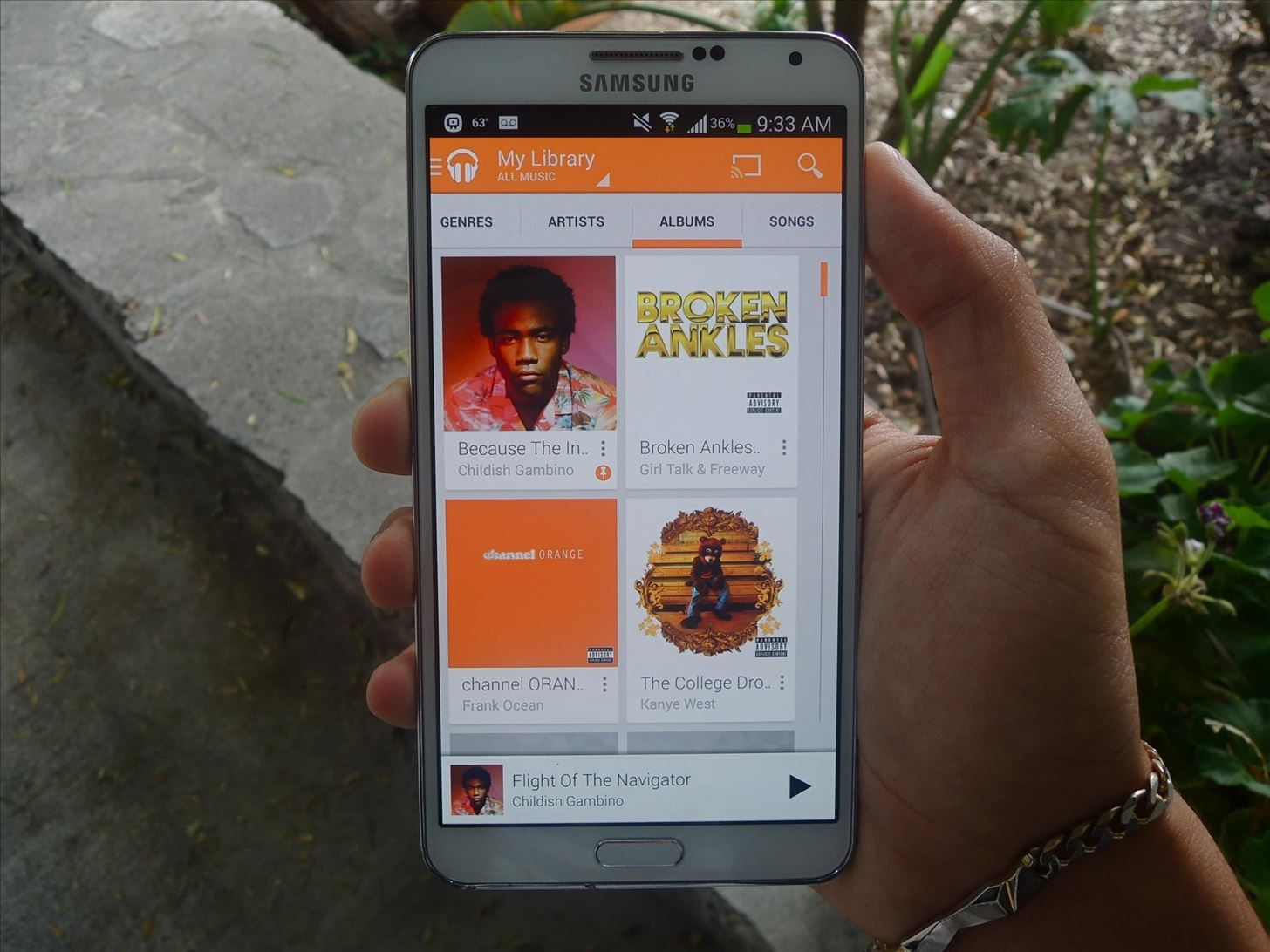 How to Customize the Default Landing Screen & Tab for Google Play Music on Your Galaxy Note 3