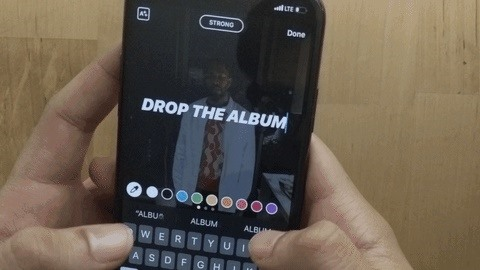 Use this text trick in Instagram stories to change each character color in seconds