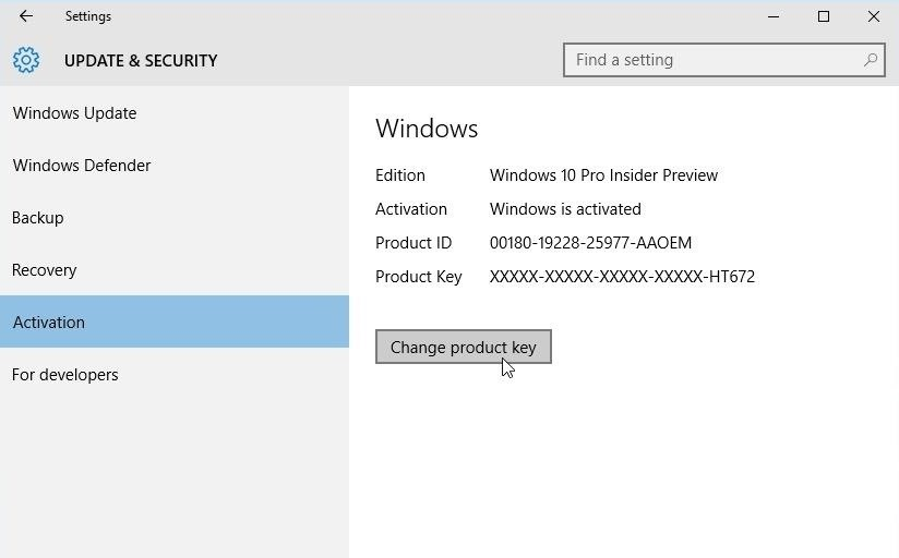 how to activate windows 10 with windows 7 key