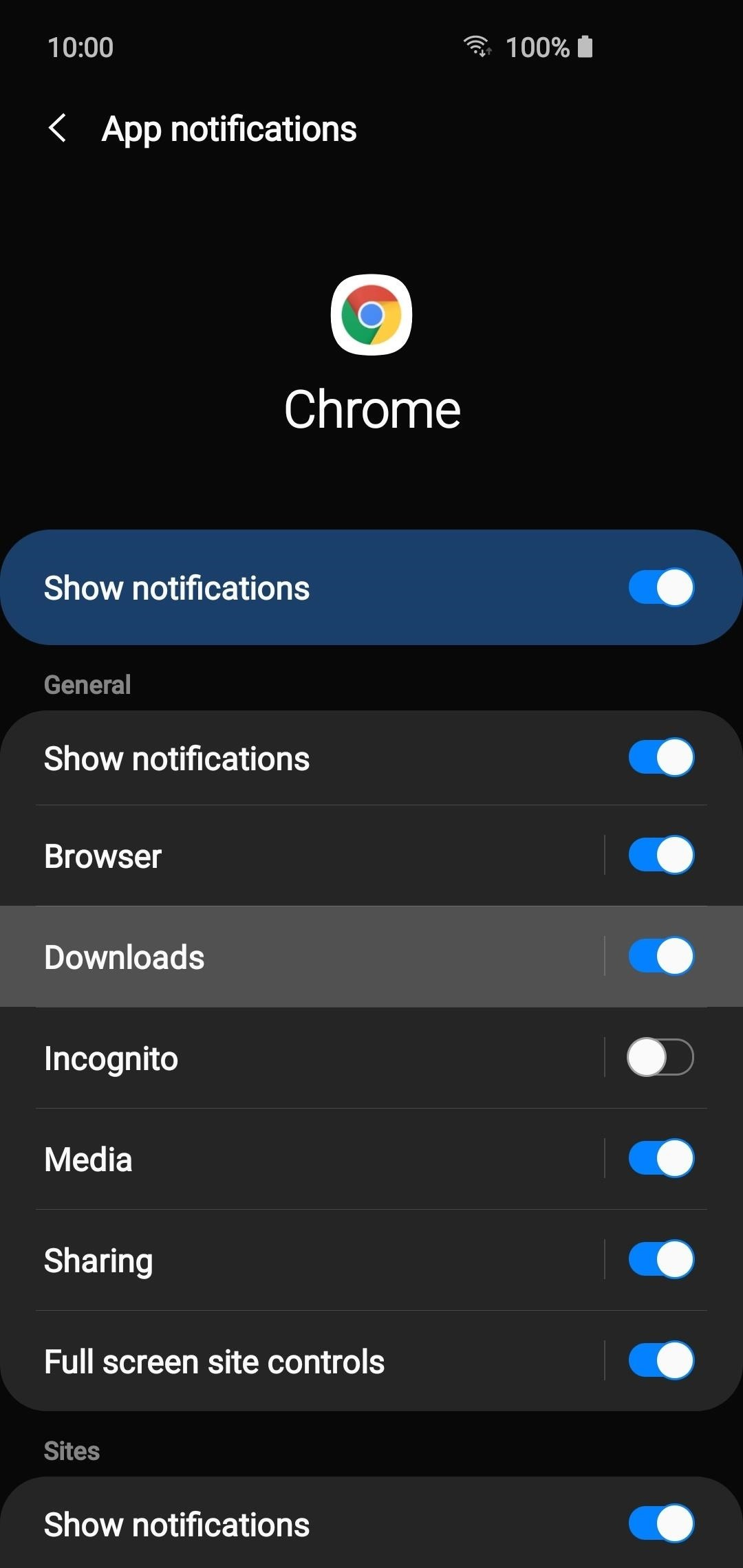 Muting notifications from individual apps on your Android phone
