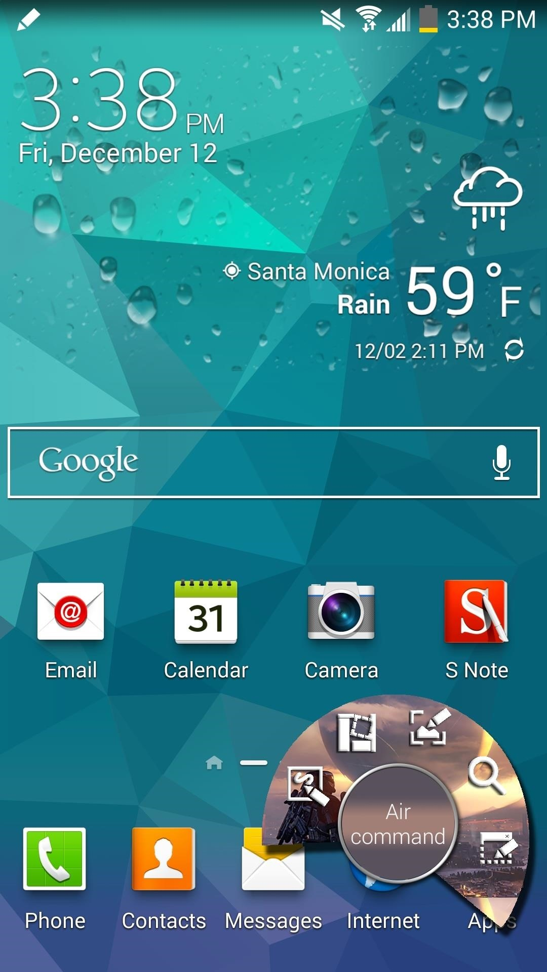 Theme Your Galaxy Note 3's Air Command Controller Window