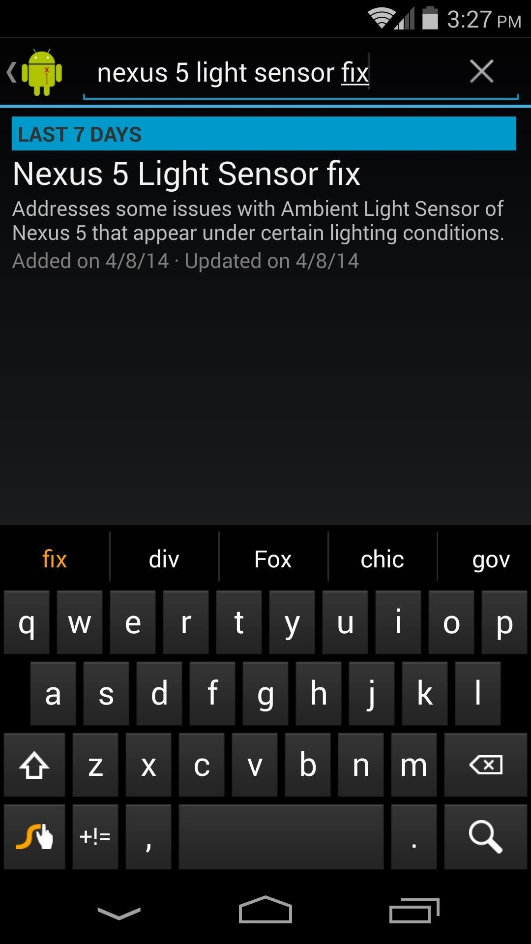 How to Fix the Random Auto Brightness Spikes on Your Nexus 5