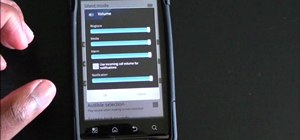Set notification and ringtone volumes to the same level on the Droid Bionic