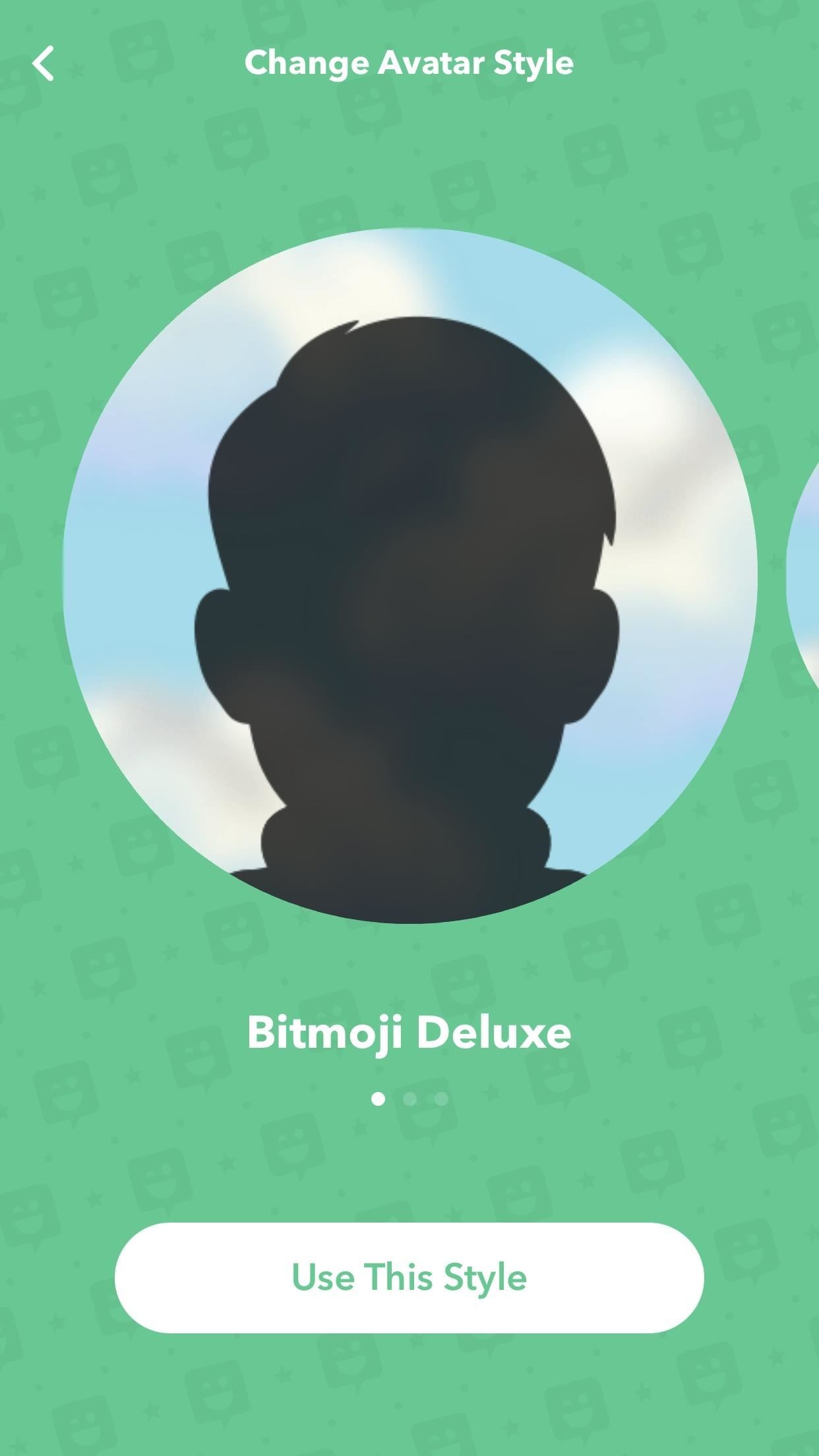 Snapchat 101: How to Use Your Selfies to Create a Bitmoji Deluxe
