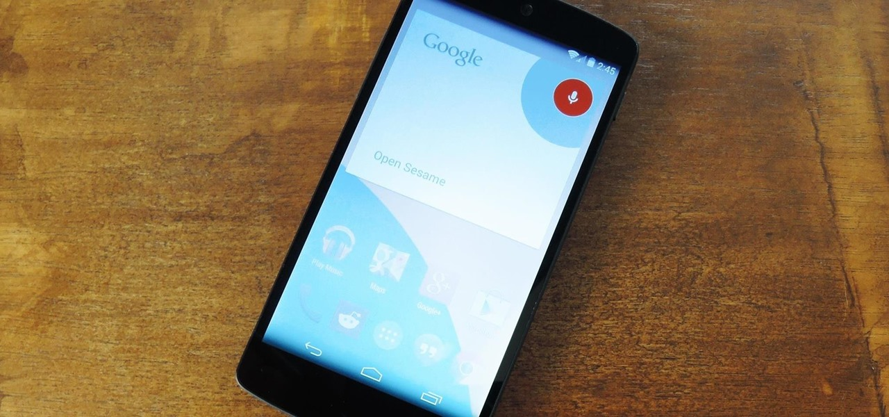 Get Custom Hotword Detection to Launch Any App on Your Nexus 5