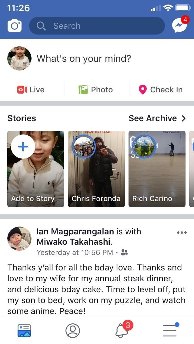 How to Get Dark Mode on Facebook for Less Eye Strain When Browsing Your News Feed [Jailbreak Tweak]