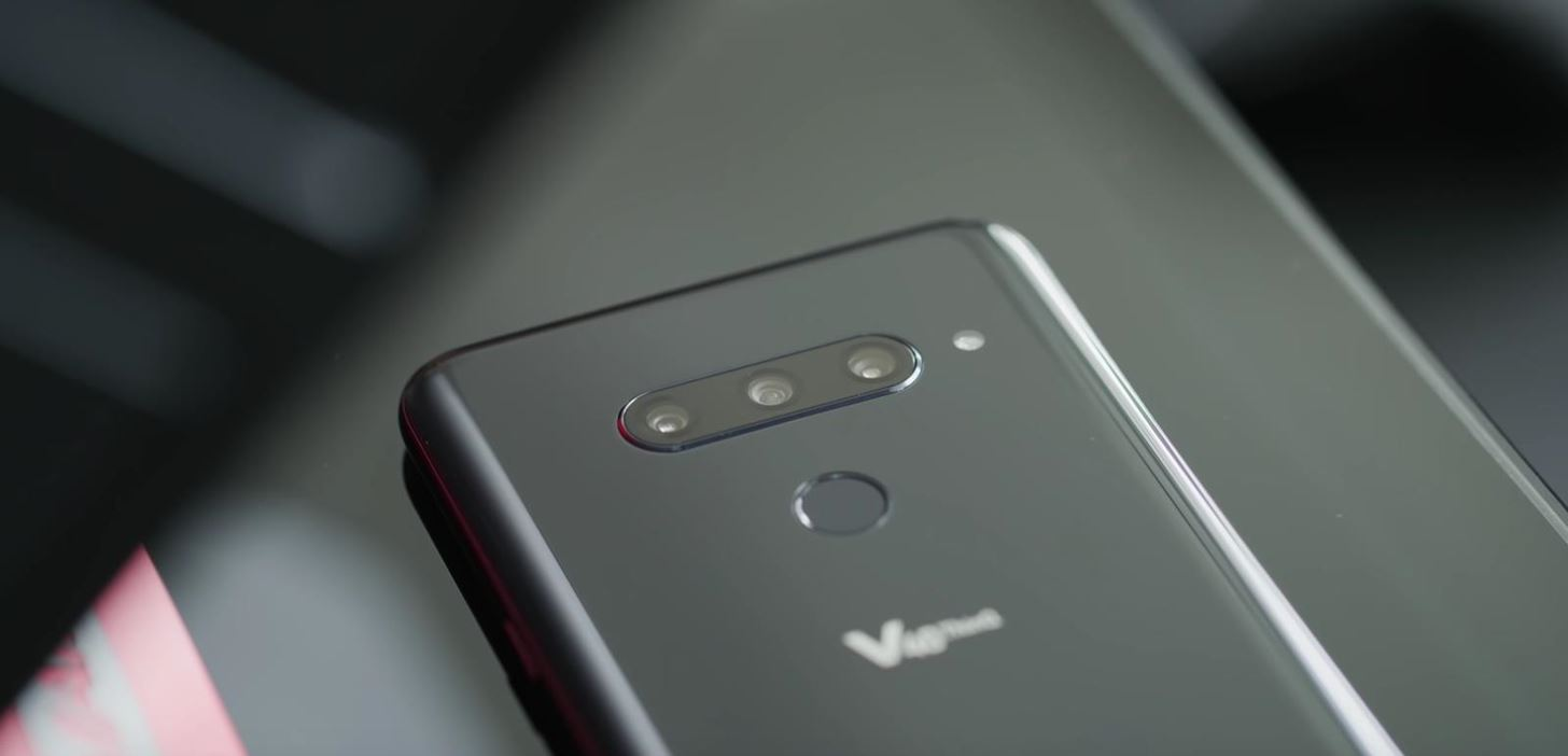 The LG V40 ThinQ Goes Official — 5 Cameras, 1 Notch & a Laundry List