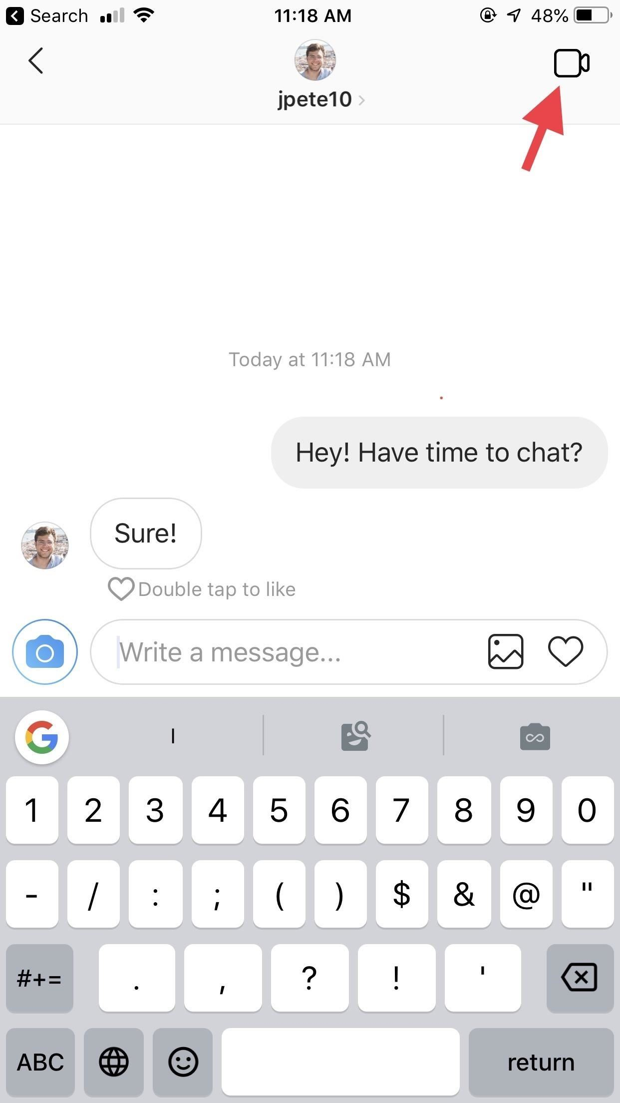 How to Chat Directly with One or More Users in Instagram for Quick Calls