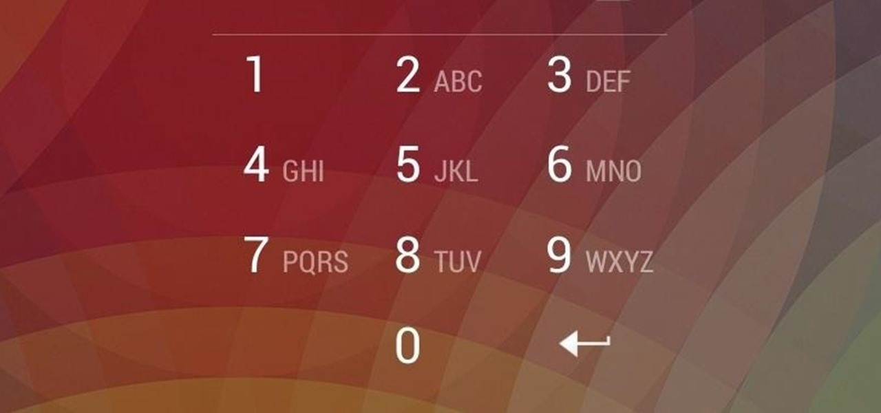 How to Reset Your Nexus Lock Screen Password « Nexus 7