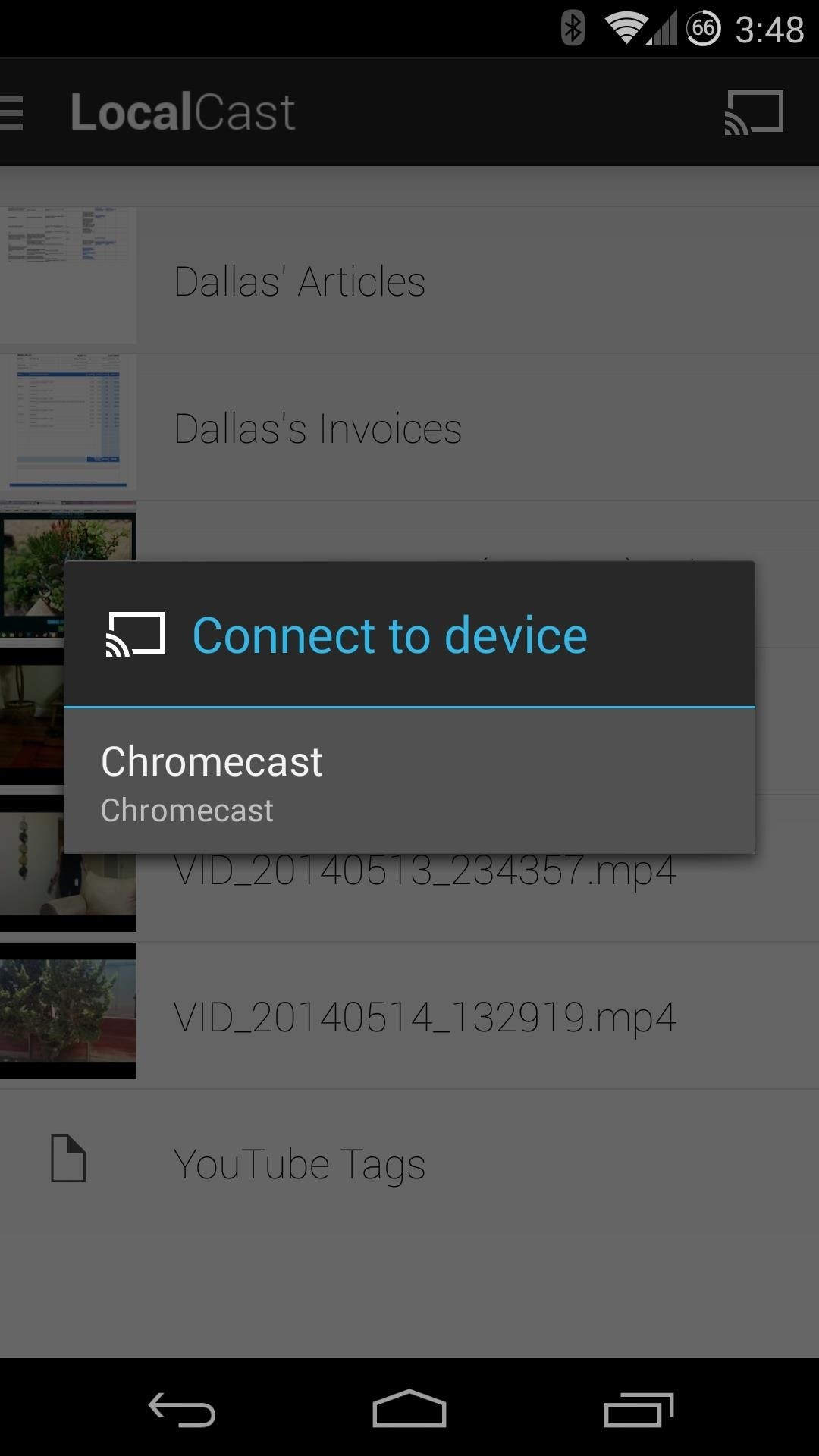 How to Cast Videos from Google Drive to Your TV with Chromecast
