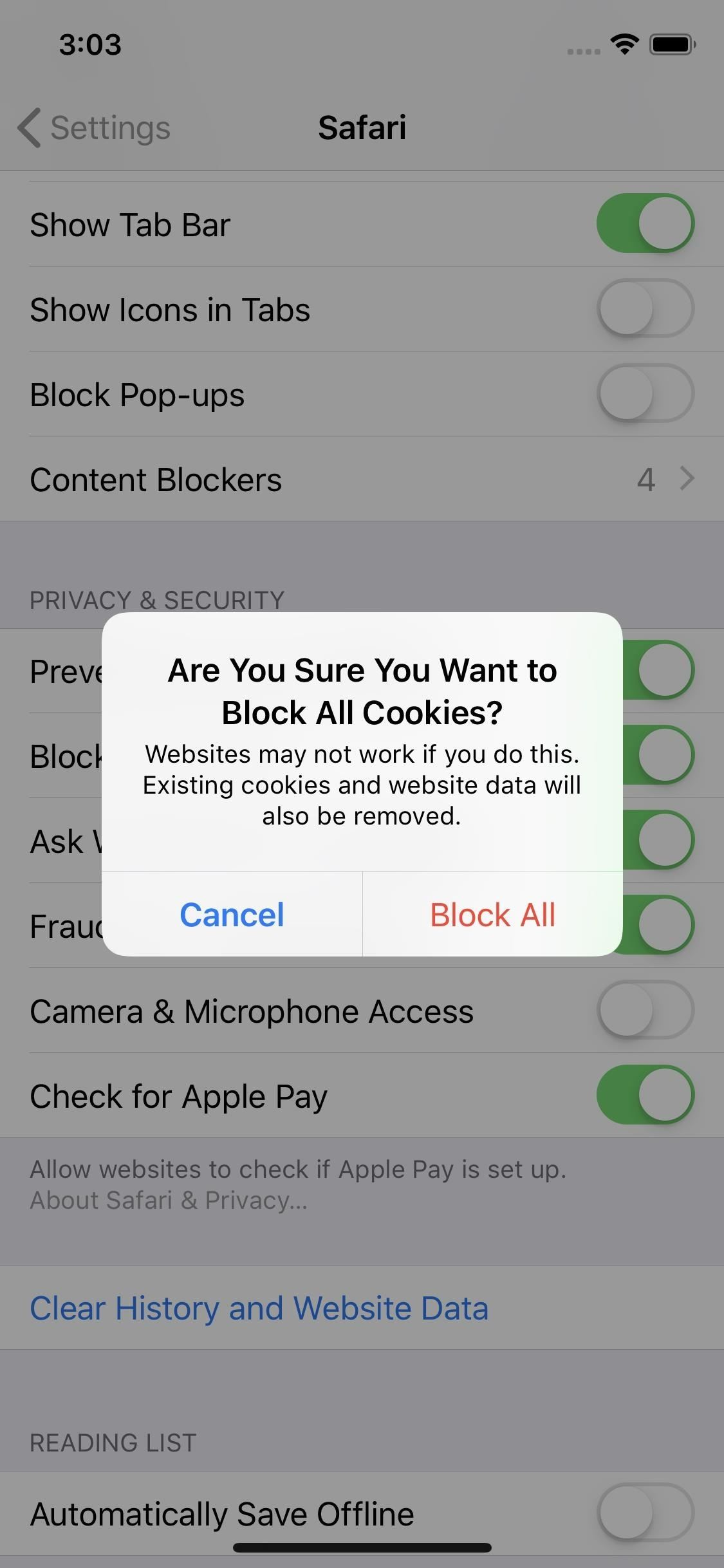 how to stop phishing pop ups on iphone