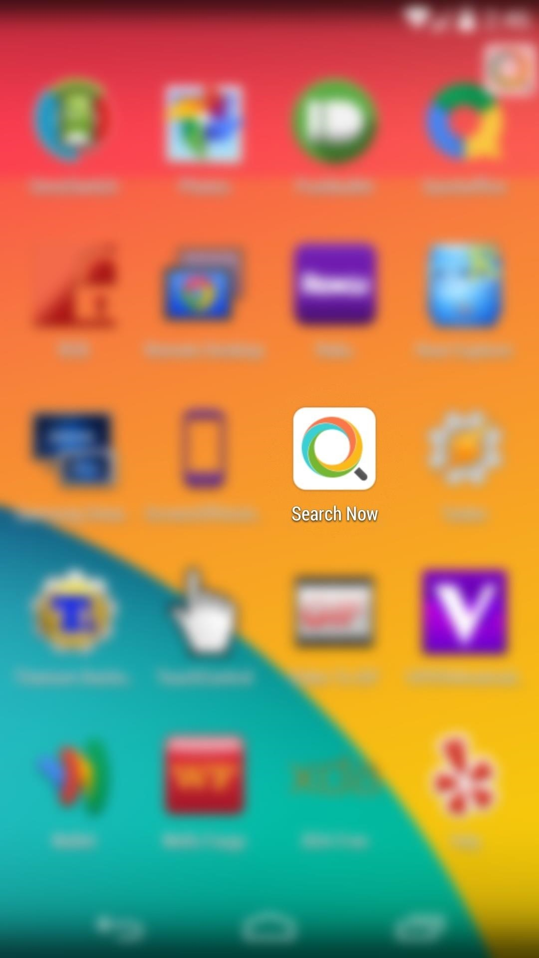 How to Quickly Search the Web & Your Nexus from Within Any App or Screen